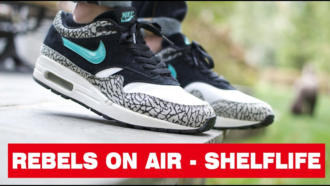 REBELS ON AIR : Nike Air Max 1 atmos Elephant RELEASE at Shelflife