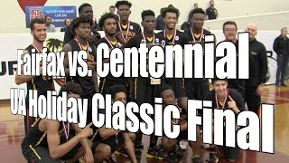Fairfax vs. Centennial (Corona, CA), UA Holiday Classic Final, 12/30/15