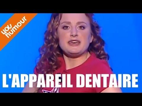 Eglantine Blanckaert et son appareil dentaire