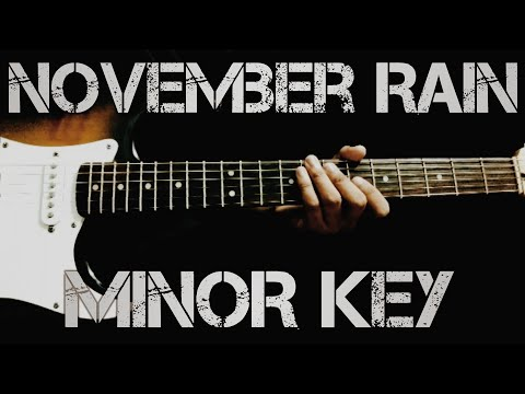 #gunsnroses #novemberrain November Rain Solo Cover in Minor Key | GunsN'Roses | Sad Version