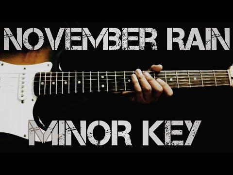 #gunsnroses #novemberrain November Rain Solo Cover in Minor Key | GunsN'Roses | Sad Version