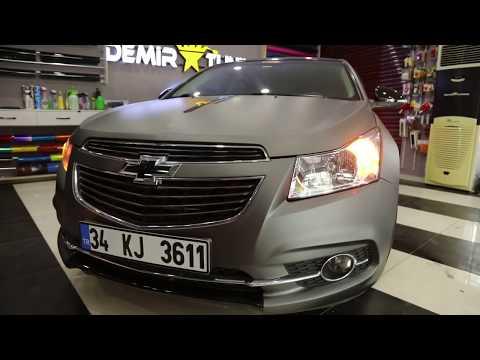 Chevrolet Cruze Sport Plus Mat Füme Kaplama Ve Detaylar / Demir Tuning