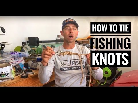 Ike In The Shop: Top 4 Fishing Knots For All Fishermen