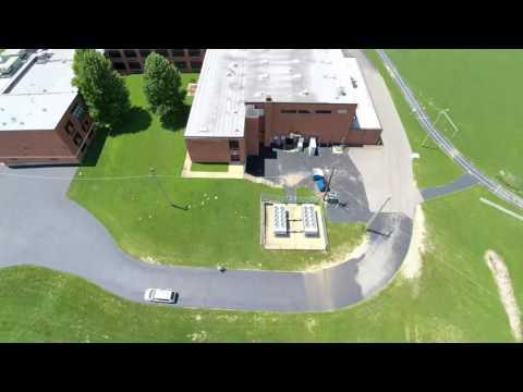 Autel x-star premium drone flight video - OAKVILLE MIDDLE SCHOOL 07/10/16