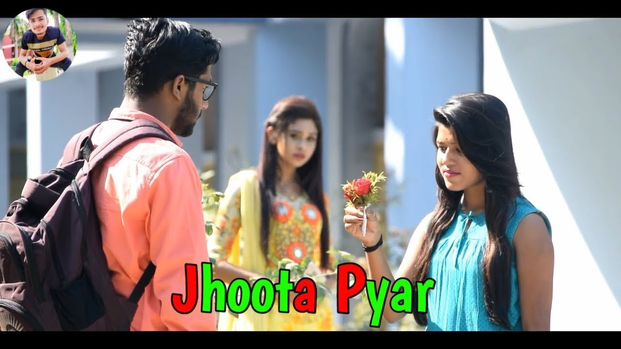 Jhoota Pyar Bewafa Nikli Tu || sad love story || sad WhatsApp status
