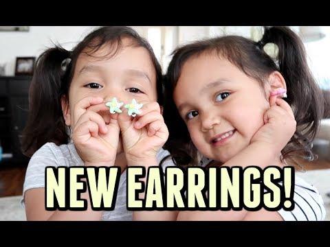 MIYA AND KEIRA TALK ABOUT EARRINGS! -  ItsJudysLife Vlogs