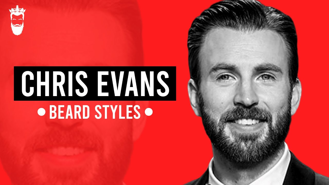7 Chris Evans Beard Styles and How to Achieve Them! - YouTube