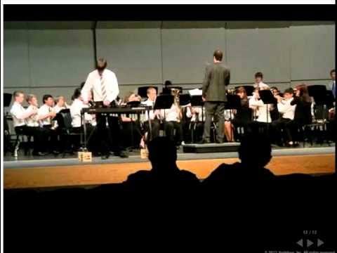 Sage Valley Middle School 8th Grade Symphonic Band--Galop by Dmitri Kabelevsky arr. Daniel Mitchell