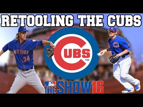 MLB 16 THE SHOW FRANCHISE: RETOOLING THE CHICAGO CUBS