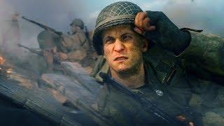 Call of Duty WWII GamePlay Прохождение на максимальных. Мочим фашистов №2