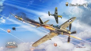 WarTHUNDER Free Game  Bf 109 F-4 Vs P-63 A (Pitch Back) Batallas Realistas Online