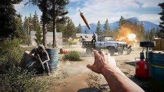 2 часа в Far Cry 5. ГЕЙМПЛЕЙ - БОМБА! Эксклюзив. Теперь одна из самых ожидаемых игр 2018 года.