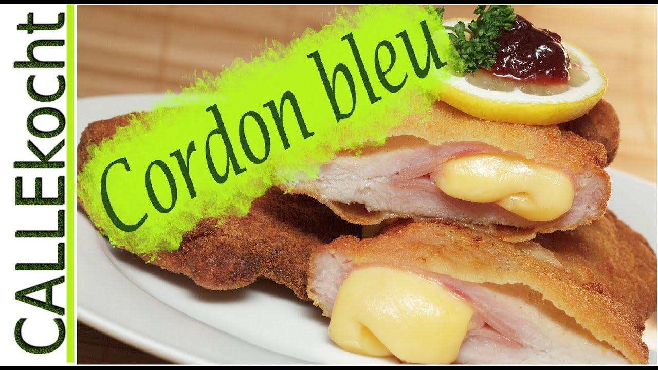 Saftiges und knuspriges Cordon bleu selber machen - Leckeres Rezept mit einer Käse Auslauf-Garantie