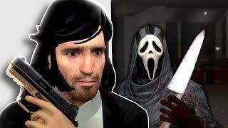 Murder Mystery in John Wick's Mansion! - Garry's Mod Gameplay - Gmod Homicide Gamemode
