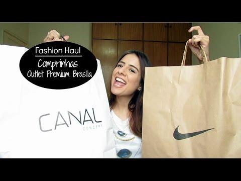 Fashion Haul - Comprinhas Outlet Premium Brasília