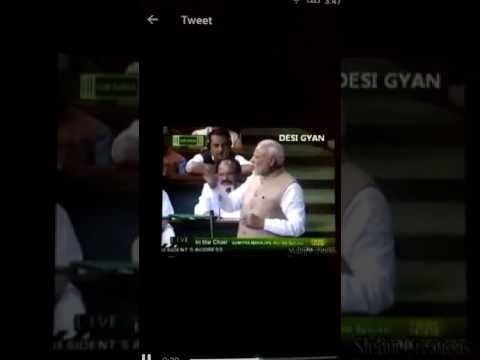 Modi kabali version funny video