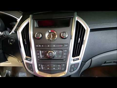 How to Remove Radio / Navigation / Display from Cadillac SRX 2012 for Repair.