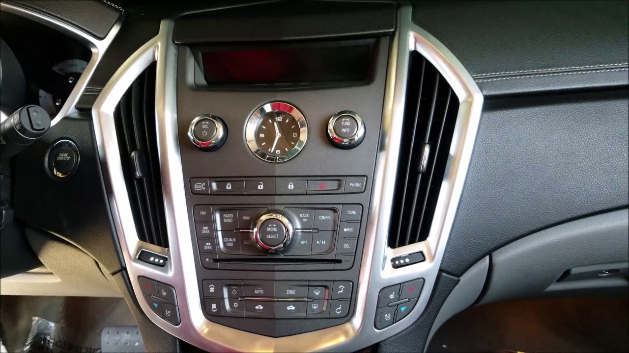 hight resolution of how to remove radio navigation display from cadillac srx 2012 for repair