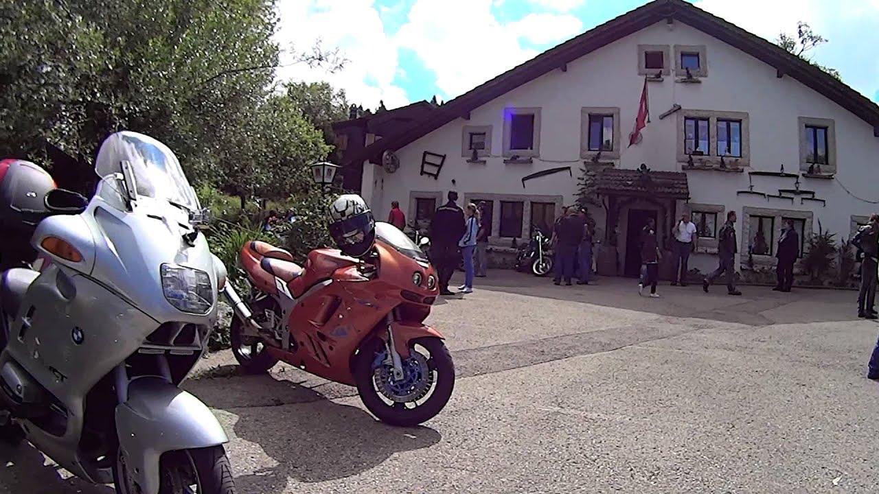 Rencontre motos Les Roches-de-Moron - YouTube