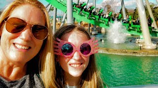 Riding All the Roller Coasters at Universal Orlando! Thrill Ride Day!