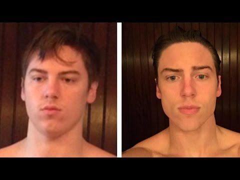 12% to 6% body fat - Face Transformation