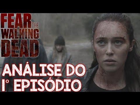 FEAR The Walking Dead Análise do 1 episódio da 5 temporada - o zumbi radioativo !