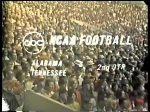 1968 Alabama Crimson Tide (#9) vs Tennessee Volunteers (#10)