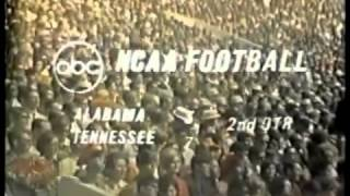 1968 Alabama Crimson Tide (#9) vs Tennessee Volunteers (#10)