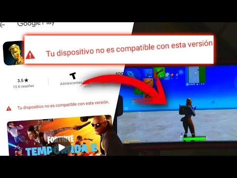✔️¡D3SC4RG4R FORTNITE ANDROID PARA TODOS LOS DISPOSITIVOS NO COMPATIBLES! GAMA BAJA (4GB RAM)