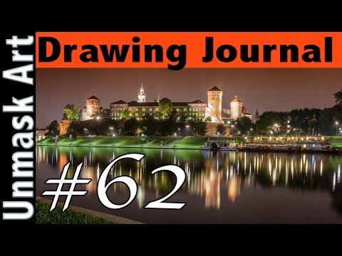 "Drawing Journal #62 ""Trip to Kraków + My Photography"""
