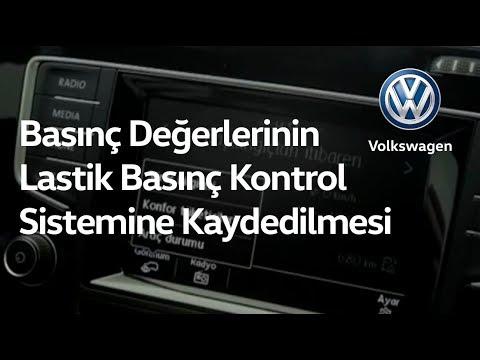 Basınç Değerlerinin Lastik Basınç Kontrol Sistemine Kaydedilmesi - YouTube