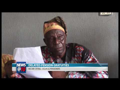 Delayed pension gratuities