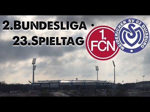 23. Spieltag • 1.FC Nürnberg : MSV Duisburg
