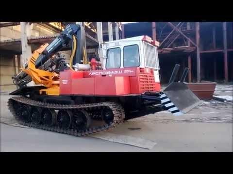 трактор тт-4 видео