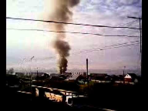 В восточчном горит автосервис.Курган 27 мая 2014