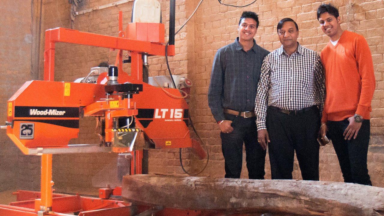 Delhi sawmiller cuts waste in half with Wood-Mizer LT15 sawmill