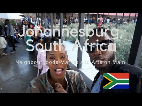 A Haitian and a Jamaican in  South Africa: Neighbourhoods Market and Arts on Main