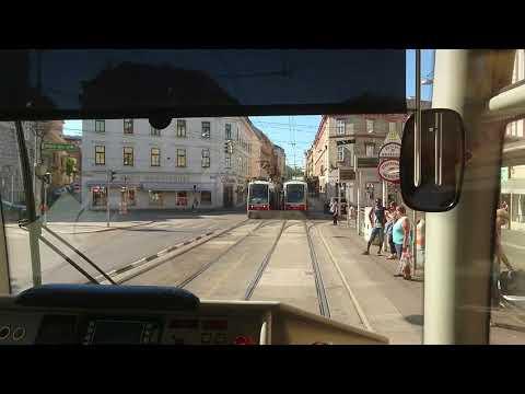 2017.08.15 Tram ride in Vienna, Austria