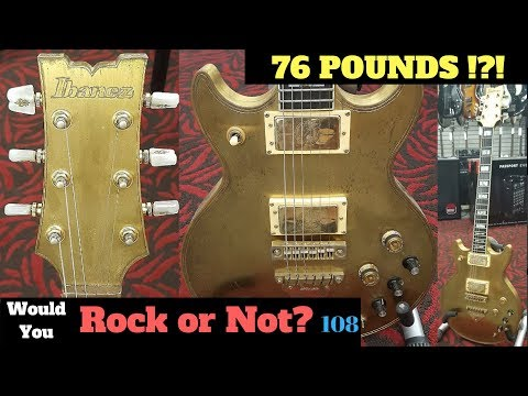 76 Pound Solid Brass Guitar! | 1979 Ibanez Artist 2622 | Would You Rock or Not? 108