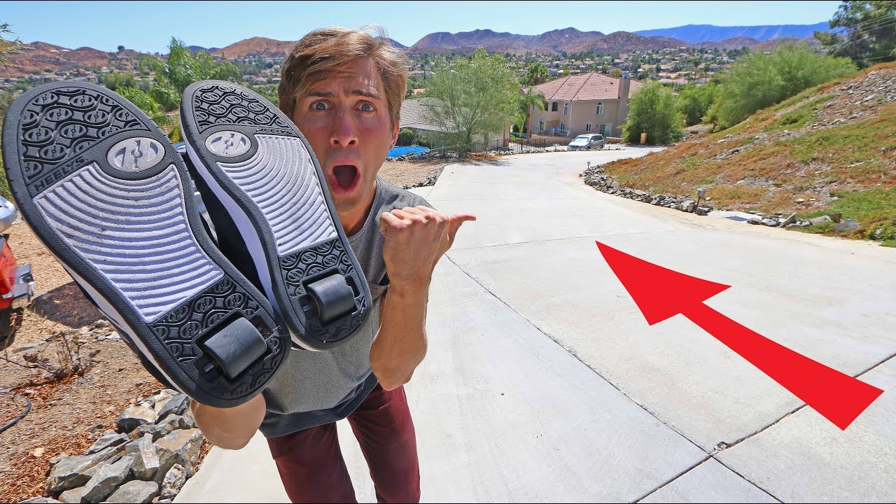 heelys-vs-steep-driveway