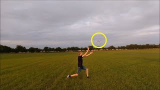Throwing And Catching Returning Boomerang By Victor Poulin
