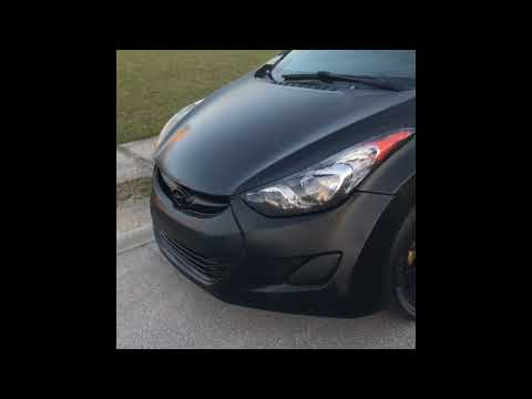 Spray Painting My 2013 Hyundai Elantra With Rustoleum Spray Paint Cans!! (MISTAKE OR NO?!?)