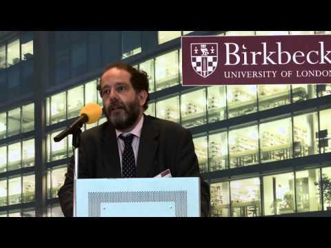 Scholars' Evening 2015: Professor David Latchman CBE, Master talks about Birkbeck's future