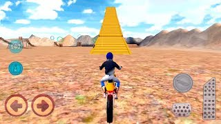 Motocross Beach Race Jumping 3D #Dirt Motor Cycle Racer Game #Bike Game To Play