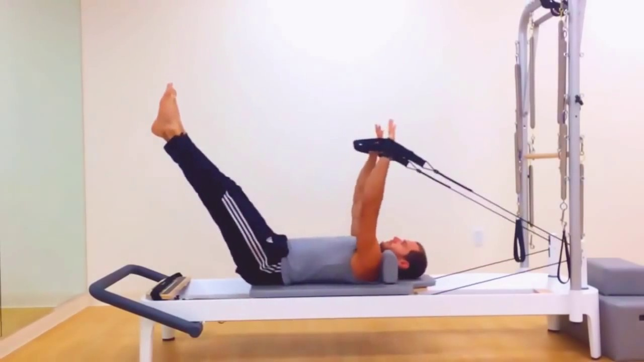 Pilates Reformer Workout For Men Youtube