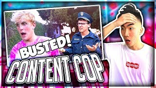 reacting to idubbbz s content cop on jake paul