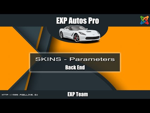 EXP Autos Pro - Skins Params.