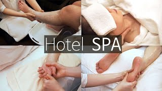 ASMR Relaxing SPA 🌟Foot Bath, Scrub, Scalp & Body Massage