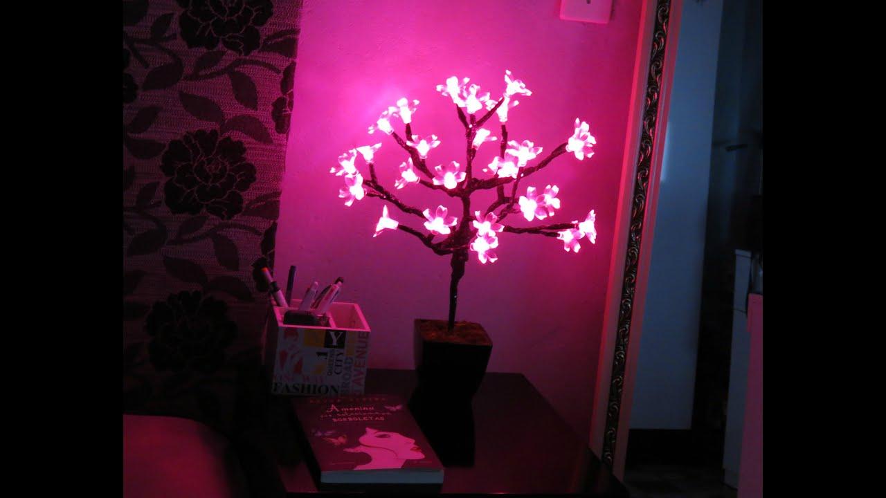 Diy Luminária Árvore de luz Imaginarium YouTube