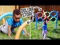DIY Dollar Store Backyard Obstacle Course - HGTV Handmade